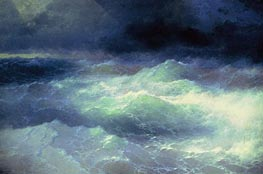 Aivazovsky | Among the Waves | Giclée Canvas Print
