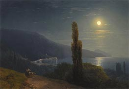 Aivazovsky | Crimean Coast in Moonlight | Giclée Canvas Print