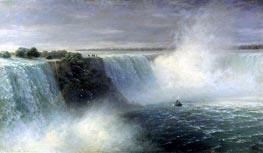 Aivazovsky | View of Niagara Falls | Giclée Canvas Print