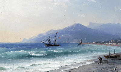 Crimean Coast, undated | Aivazovsky | Painting Reproduction