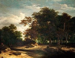Ruisdael | The Big Forest | Giclée Canvas Print