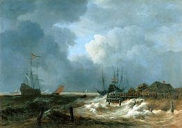 Ruisdael | The Storm | Giclée Canvas Print