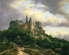 Ruisdael | The Castle of Bentheim | Giclée Canvas Print