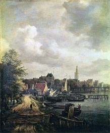 Ruisdael | View of Amsterdam | Giclée Canvas Print