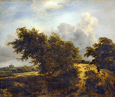 The Bush, 1856 | Ruisdael | Painting Reproduction