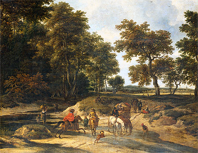 The Benefits, 1682 | Ruisdael | Painting Reproduction