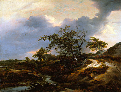 Landscape with Dunes, 1649 | Ruisdael | Painting Reproduction