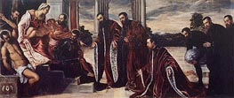Tintoretto | Madonna of the Treasurers | Giclée Canvas Print