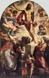 Tintoretto | The Resurrection of Christ | Giclée Canvas Print