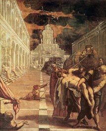 Tintoretto | The Removal of the Body of St. Mark | Giclée Canvas Print