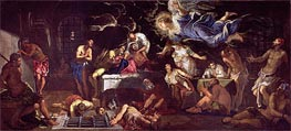 Tintoretto   St. Roch Visited by an Angel in Prison   Giclée Canvas Print