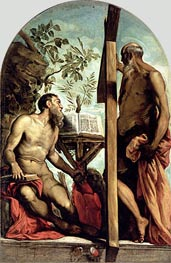 Tintoretto   St. Andrew and St. Jerome   Giclée Canvas Print