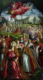 Tintoretto   St. Ursula and the Eleven Thousand Virgins   Giclée Canvas Print