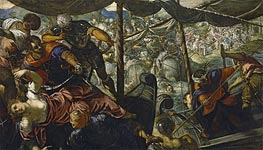 Tintoretto | The Abduction of Helen | Giclée Canvas Print