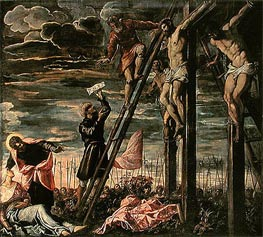 Tintoretto | The Crucifixion of Christ | Giclée Canvas Print
