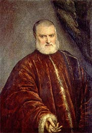 Tintoretto | Portrait of Procurator Antonio Cappello, c.1551 | Giclée Canvas Print