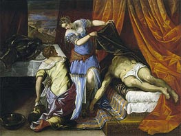 Tintoretto | Judith and Holofernes | Giclée Canvas Print
