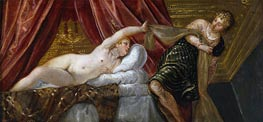 Tintoretto | Joseph and the Wife of Potiphar, c.1552/55 | Giclée Canvas Print