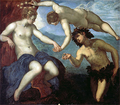 The Discovery of Ariadne, 1578   Tintoretto   Painting Reproduction