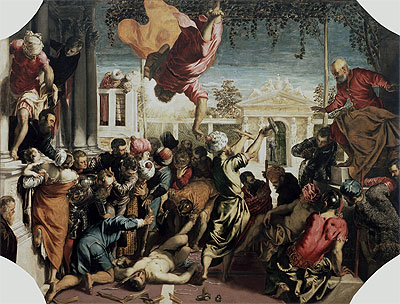 The Miracle of the Slave, c.1547/48 | Tintoretto | Giclée Canvas Print
