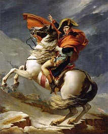Jacques-Louis David | Napoleon Crossing the Alps on 20th May 1800, 1803 by | Giclée Canvas Print