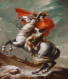 Jacques-Louis David | Napoleon Crossing the Saint Bernhard Pass | Giclée Canvas Print