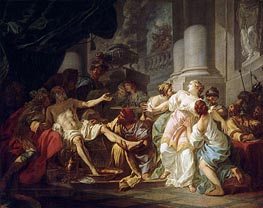 Jacques-Louis David | The Death of Seneca | Giclée Canvas Print