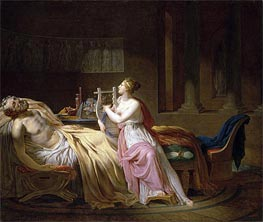 Jacques-Louis David | Homer and Calliope, 1812 | Giclée Canvas Print