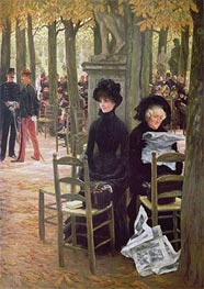 Joseph Tissot | Without a Dowry (Sans Dot) | Giclée Canvas Print