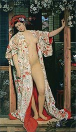 Joseph Tissot | Japanese Girl Bathing | Giclée Canvas Print