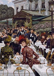 Joseph Tissot | The Artists' Wives | Giclée Canvas Print