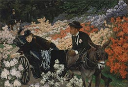Joseph Tissot | The Morning Ride | Giclée Canvas Print