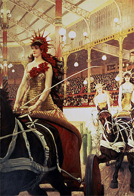 The Ladies of the Cars, c.1883/85  | Joseph Tissot | Giclée Canvas Print