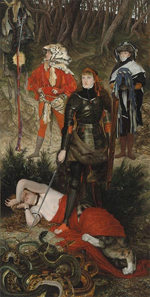 Triumph of the Will - The Challenge, c.1877 | Joseph Tissot | Giclée Canvas Print