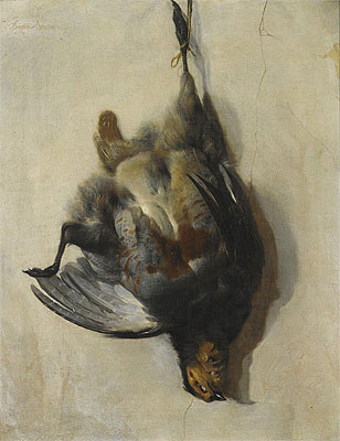 A Still Life of a Grey-Leg Partridge, Undated | Jan Baptist Weenix | Giclée Canvas Print