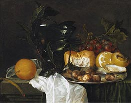 de Heem | Still Life with a Roemer, Undated | Giclée Canvas Print