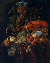 de Heem | Still Life with Fruit and Lobster, undated | Giclée Canvas Print