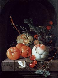 de Heem | Still Life of Fruit, undated | Giclée Canvas Print