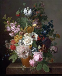 van Dael | Still Life of Flowers, undated | Giclée Canvas Print