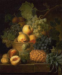van Dael | Basket of Fruit, c.1801/02 | Giclée Canvas Print