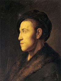 Jan Lievens   Portrait of a Young Man in Profile, undated   Giclée Canvas Print