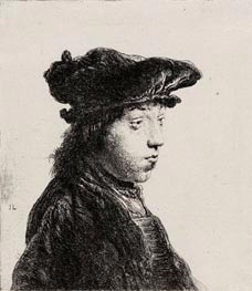 Jan Lievens | Young Man in a Cap, c.1631 | Giclée Paper Print