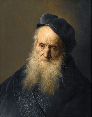 A Tronie of an Old Man, undated | Jan Lievens | Giclée Canvas Print