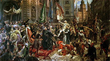 The Constitution of the 3rd May 1791, 1891 | Jan Matejko | Painting Reproduction