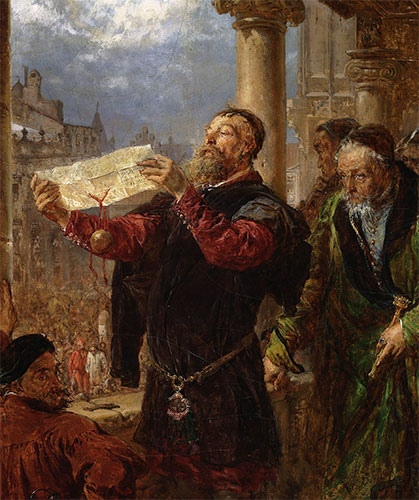 Judgment on Matejka, 1867 | Jan Matejko | Giclée Canvas Print