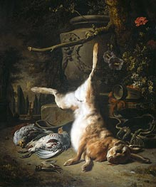 Jan Weenix | Still Life with Hare and other Hunting Booty | Giclée Canvas Print