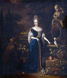 Jan Weenix | Portrait of Maria Cornelisz, Spouse of Silvester of Tongeren | Giclée Canvas Print