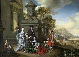 Jan Weenix | A Family Portrait | Giclée Canvas Print