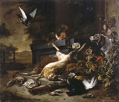 Still Life of Game, c.1680 | Jan Weenix | Giclée Canvas Print