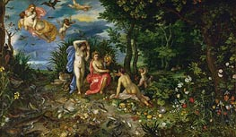 Jan Bruegel the Elder | Ceres and the Four Elements, 1604 | Giclée Canvas Print